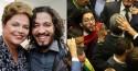 """Jean Wyllys dedica cusparada em Bolsonaro à Dilma e chama Moro de """"cafona"""" em carta aberta"""