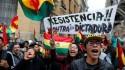 Paz na Bolívia e povo nas ruas em festa (veja o vídeo)