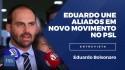 Capitaneados por Eduardo Bolsonaro, deputados fogem da perseguição do PSL e criam frente Brasil Acima de Tudo (veja o vídeo)