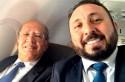 """A intrigante """"selfie"""" do advogado de Ricardo Coutinho com o ministro Gilmar Mendes"""