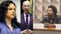 """Indignada, Janaína quer investigação sobre os disparos da campanha do PT e o """"racismo"""" de Rui Falcão"""