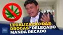 """Delegado Éder Mauro dispara contra a legalização das drogas e a """"bancada da chupeta"""" (veja o vídeo)"""