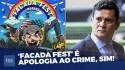 Com a habitual elegância, Sergio Moro tira a máscara da Folha (veja o vídeo)