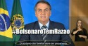 Povo reage e #BolsonaroTemRazao assume o primeiro lugar nos Trending Topics