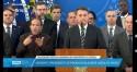 Acompanhe AO VIVO o pronunciamento de Bolsonaro sobre a demissão de Moro