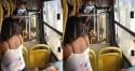 Mulher é espancada e expulsa de ônibus por estar sem máscara (veja o vídeo)