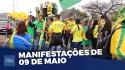 Manifestantes apoiam Bolsonaro e pedem o cumprimento da Constituição (veja o vídeo)