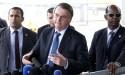"""AO VIVO: """"Todos sabem onde Witzel estará em breve"""", diz Bolsonaro (veja o vídeo)"""