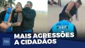 Novo normal: agressão e multa para quem não usar máscara (veja o vídeo)