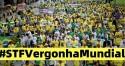 "Após denúncias de Allan, povo protesta e hashtag ""STF Vergonha Mundial"" rompe as barreiras da web"