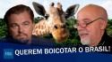 Celebridades e militantes de esquerda pedem boicote ao Brasil (veja o vídeo)