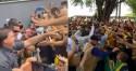 Na terra do comunista Flávio Dino, Bolsonaro é recebido por enorme multidão em festa (veja o vídeo)