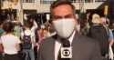 Repórter da Globo se atrapalha ao falar sobre aglomeração em prol de Biden e troca palavra descaradamente (veja o vídeo)