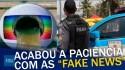 Polícia Militar do Rio solta o verbo contra mentiras do grupo Globo (veja o vídeo)