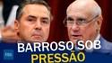 Senador Lasier cobra explicação de Barroso sobre prisão em 2ª instância (veja o vídeo)