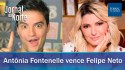 Jornal da Noite: Atriz Antônia Fontenelle vence Felipe Neto e Doria tranca São Paulo (veja o vídeo)