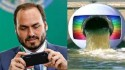 Carlos Bolsonaro expõe a hipocrisia da Rede Globo