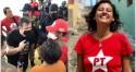 Vereadora do PT se envolve em 'quebra-quebra' em Natal/RN (veja o vídeo)