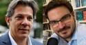 """Haddad ataca Bolsonaro e toma lição de Constantino: """"Petista que nasceu pra ser poste de ladrão"""""""