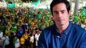 """""""O povo está com o presidente"""", constata ator Felipe Folgosi (veja o vídeo)"""
