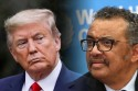 Donald Trump enfrenta Tedros Adhanom, diretor-geral da OMS