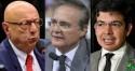 """Senador aplica """"corretivo"""" contundente em Renan e Randolfe (veja o vídeo)"""