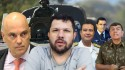 AO VIVO: Comunistas em pânico com tanques / Eustáquio denuncia Moraes / Delegado morto na sede da PF (veja o vídeo)