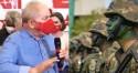"""Em tom de """"ameaça"""", Lula ataca Forças Armadas: """"Quando eu ganhar, vou dizer qual é o papel deles"""" (veja o vídeo)"""