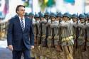 """""""O Exército nunca faltará ao seu povo"""": A promessa do presidente (veja o vídeo)"""
