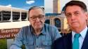 AO VIVO: Bolsonaro na Basílica de Aparecida / Moraes intima Olavo de Carvalho (veja o vídeo)
