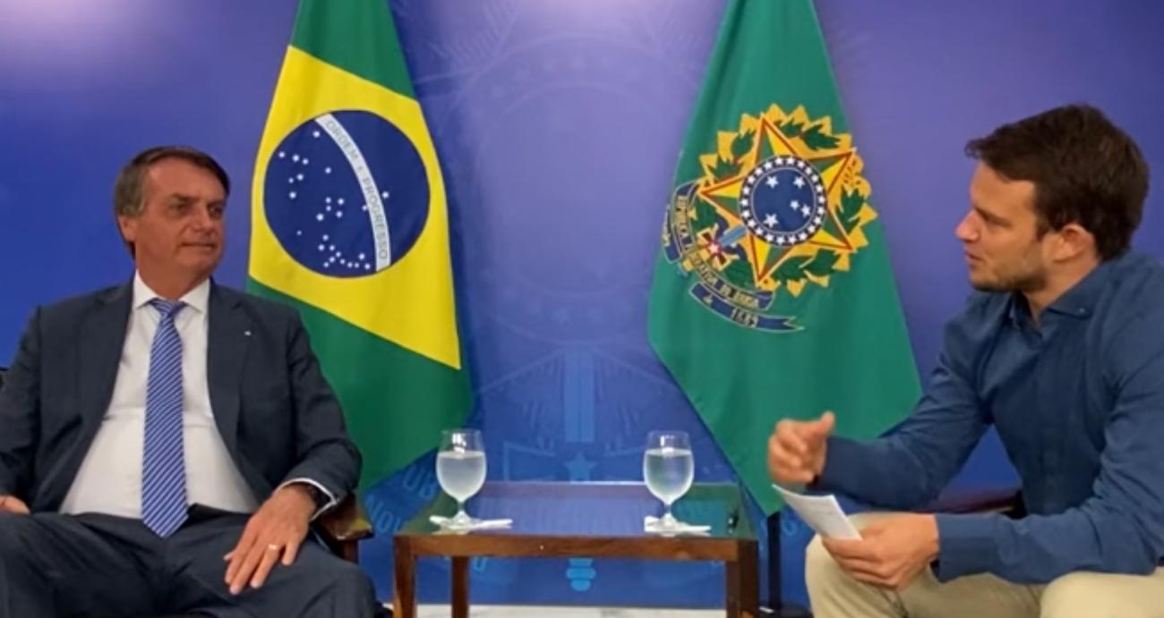 A verdade do Brasil ganha o mundo em entrevista internacional de Jair Bolsonaro (veja o vídeo)