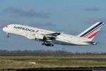 Caças americanos escoltam avião da Air France de Paris até Nova York