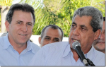 André Puccinelli e Edson Giroto, sócios há vinte anos