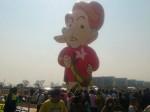 Manisfestantes levam para a esplanada o pixuleco e Dilma com nariz de Pinóquio (assista ao vídeo)