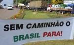 Greve de caminhoneiros pela renúncia de Dilma começa na 2ª feira e promete parar o país