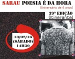 'Poesia é da Hora', resistência e resiliência levando a poesia para o povo de rua de São Paulo