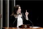 Senadora ataca pressa na lei de abuso de autoridade e garante que Lava Jato é intocável (vídeo)