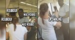 Flagrante: Mulher acusa homem negro de furto do celular que estava na bolsa (Veja o vídeo)