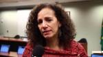 Flagrada pichando muro, deputada do PCdoB admite 'movimento da subversão' (veja o vídeo)