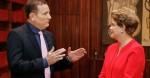 Dilma se abre com Roberto Cabrini, mas não convence ninguém