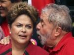 Dilma em tom desafiador: 'Não são burros de prender o Lula'