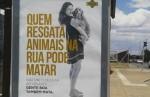 Campanha do governo causa indignação: 'Quem resgata animais na rua pode matar'