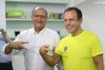 Nos bastidores, Alckmin já admite apoiar Dória para presidente