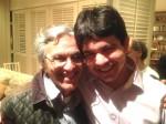 Na casa de Caetano Veloso, senador Randofe Rodrigues denuncia o fim da Lava Jato (veja o vídeo)