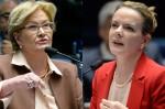 Ana Amélia em debate com Gleisi esclarece: Todos os bandidos merecem punição (veja o vídeo)