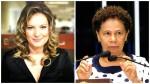 Confronto entre jornalista e senadora tem desfecho com choro, vitimização e acusação de falta de decoro (veja os vídeos)