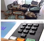 Não se impressione com as malas de dinheiro, preocupe-se com as urnas eletrônicas