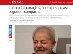 Revista Exame se entrega a Lula