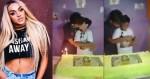 Bolo de Pabllo Vittar e beijo de namorado marcam festa de menino de 12 anos (veja o vídeo)