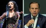 Marisa Monte quer R$ 300 mil por música casual em evento de Dória (veja o vídeo)